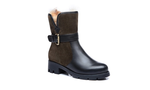 From $89.95 for Womens UGG Leather Boots and Shoes (Dont Pay up to $267)