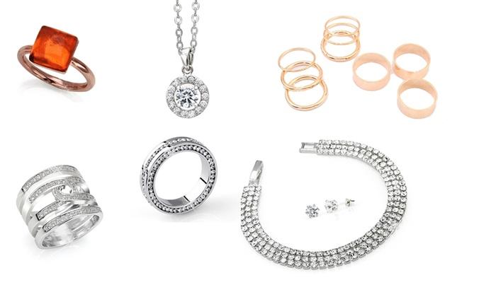orologio 83199 a9919 Gioielli con cristalli di Swarovski® | Groupon