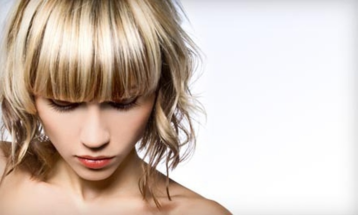 Sara Klein at Utopia Salon and Suites - Lincoln: Highlights with Condition and a Hand Treatment, or Condition from Sara Klein at Utopia Salon and Suites (Up to 57% Off)