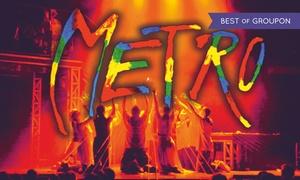 """Musical Metro: Od 69 zł: bilet na musical """"Metro"""" w Hali CRS w Zielonej Górze"""