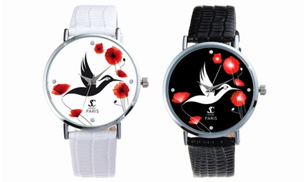 Reloj Sc Crystal Paris con cristales Swarovski® para mujer