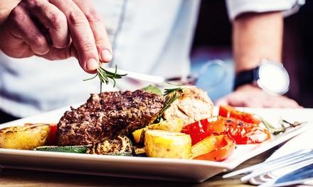 Repas carnivore avec côte de bœuf à la plancha (1 kg) avec frites au couteau pour 2 personnes dès 29,90 € à Talotegi