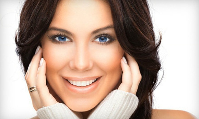 7E Fit Spa - Multiple Locations: One, Two, or Three Non-Invasive Face-Lifts  at 7E Fit Spa (Up to 73% Off)