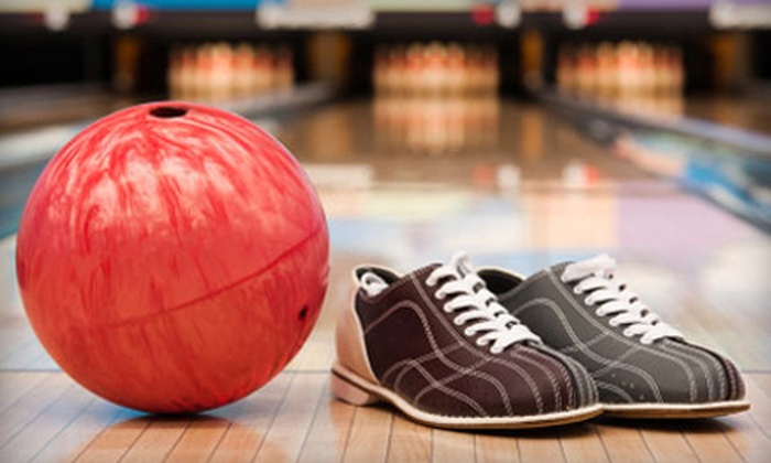Fulton Bowling Center - Fulton: Bowling with Shoe Rentals for Up to 6 or 12 at Fulton Bowling Center (Up to 56% Off)