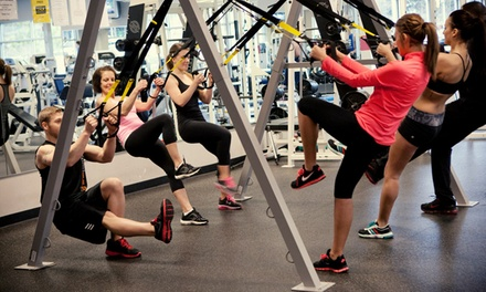 One-Month Membership and Zumba Classes, or Five Boot-Camp Classes at East Highlands Fitness (Up to 59% Value)