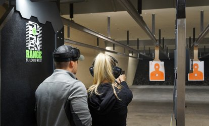 All-Day <strong>Range</strong> Package or First Time Shoot Package for Two at The <strong>Range</strong> St. Louis West (48% Off)