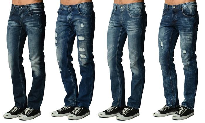 Buy 1 Get 1 Free: Men's Fashion Jeans