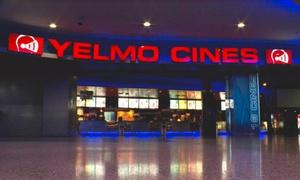 Yelmo Cines: Una entrada a Yelmo Cines con opción a menú desde 4,95 € en 32 cines a elegir