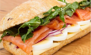Paneterie: $12 for $20 Worth of French Café Food at Paneterie