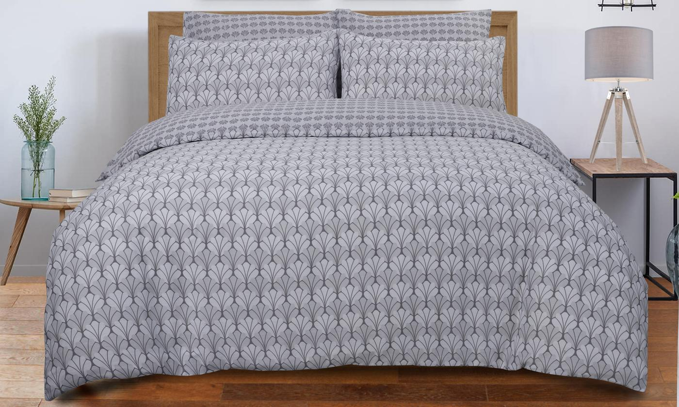 Pieridae Scallop Reversible Duvet Set