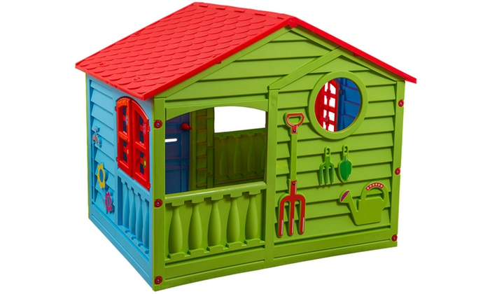 PalPlay Outdoor and Indoor Playhouse   Groupon