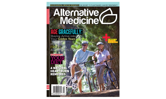 Alternative Medicine Magazine Subscription (1-Year, 6-Issues)