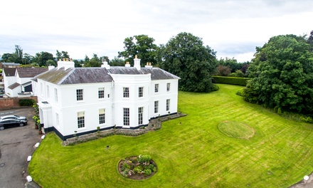 Herefordshire: 1 or 2 Nights for Two with Breakfast, Dinner, Prosecco and Late CheckOut at Brooks Country House