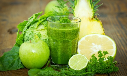Four Day Juice Cleanse and One Infrared Sauna Session at Eco Chateau (Up to 39% Off)