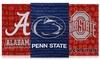 NCAA Double Sided Metallic Garden Flags