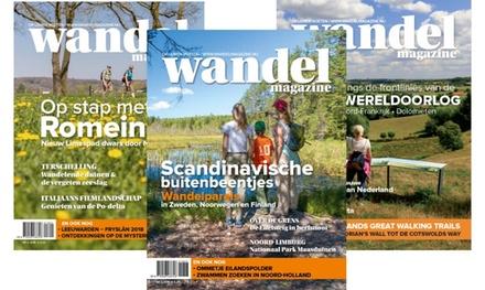 6 of 12 nummers Wandel Magazine, je abonnement stopt automatisch