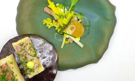 Lunchproeverijmenu bij het met een Michelinster bekroonde Restaurant Spetters in Breskens vanaf 2 personen