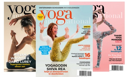 6 of 12 nummers Yoga International, je abonnement stopt automatisch