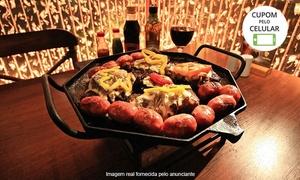 Borbulhas Chopperia & Steakhouse: Borbulhas Chopperia & Steakhouse - Gramado: parrilla uruguaia premium para 2 pessoas com acompanhamentos