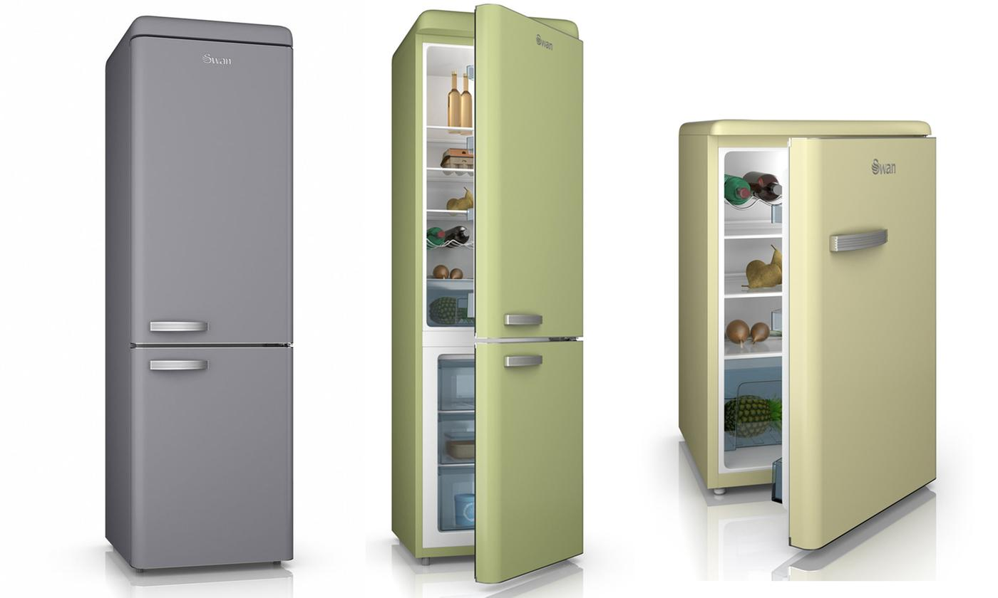 swan retro fridge