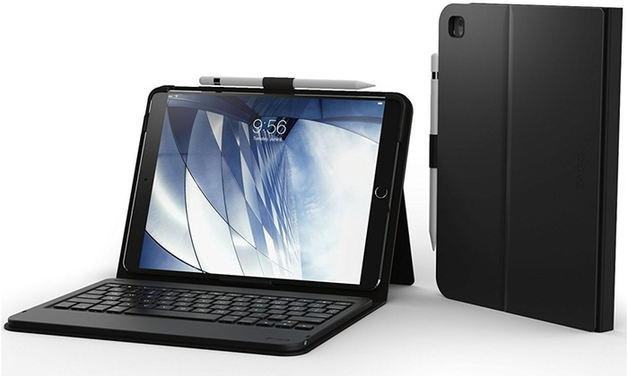 aceeaef13ca ZAGG Messenger Folio Bluetooth Keyboard Case for Apple iPad Pro 10.5 ...