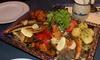 Seafood-Schlemmerplatte & Dessert