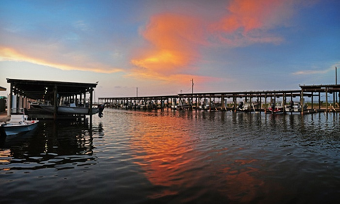 Bluff's Landing Marina and Lodge - Flour Bluff: $119 for a Two-Night Stay at Bluff's Landing Marina and Lodge (Up to $198 Value)