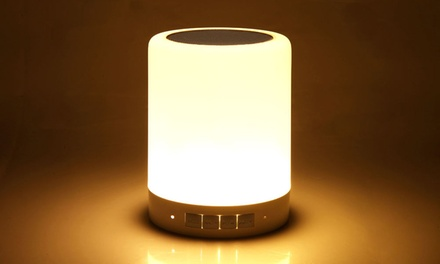 $26 for a Smart Colorful Night Light with Wireless Bluetooth Speaker