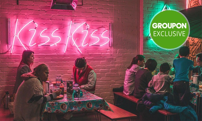 Shared Thai Plates for Two People - Kiss Kiss Eatery | Groupon