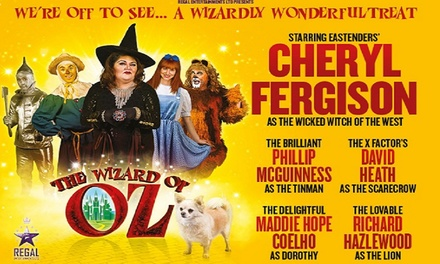 The Wizard of Oz at Southport Theatre, Price A, B or C Tickets, 24-26 October 2017 (Up to 38% Off)