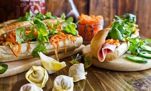Banh Mi & Co.: $7 for $10 Worth of Banh Mi Sandwiches at Banh Mi & Co. Order Online.