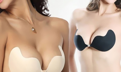 1 o 2 sujetadores adhesivos con efecto push-up
