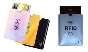 3 à 6 porte-cartes RFID