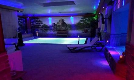2h de sauna privé avec brunch de luxe et bulles pour 2 au Sauna Aquano