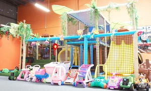Little Champs Playhouse: Play Centre Entry for One ($4), Two ($7), Four ($13) or Six Children ($19) at Little Champs Playhouse (Up to $48 Value)
