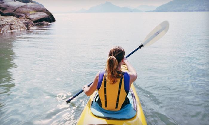 Gun Lake Rentals - Gun Lake Rentals: Four- or Eight-Hour SUP Rental or Eight-Hour Single- or Double-Kayak Rental from Gun Lake Rentals (Up to 62% Off)