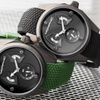 Morphic M34 Series Custom Engraved Pattern Watch