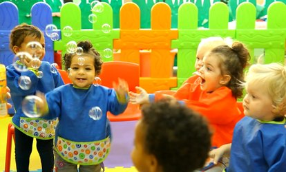 One-Week or One-Month Kids Summer Camp at Chubby Cheeks Nursery, Eight Locations