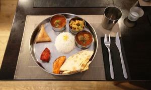 Le Masala Street: Menu thali du midi ou soir avec entrées et plats du jour à volonté pour 1 ou 2 personnes dès 11,90 € au Masala Street