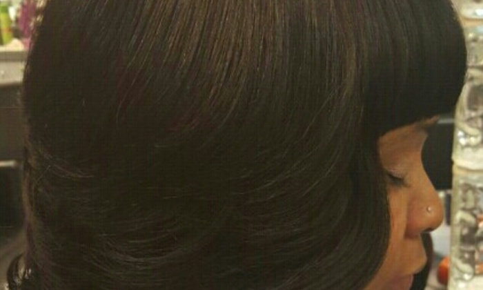 custom eyes - Clinton Township: $50 for $90 Groupon — Loyalty 4hair