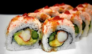 Genki Noodles & Sushi: Prix Fixe Dinner for Two or $8.50 for $14 Worth of Japanese Food for Lunch at Genki Noodles & Sushi