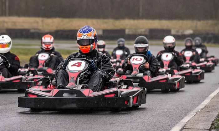 30 minute karting experience three sisters circuit groupon. Black Bedroom Furniture Sets. Home Design Ideas