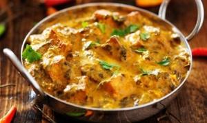 Restaurante de la India: Cocina hindú para 2 o 4 personas con entrantes, principales, bebida y postre desde 19,90 € en Restaurante de la India