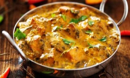 Cocina hindú para 2 o 4 personas con entrantes, principales, bebida y postre desde 19,90 € en Restaurante de la India