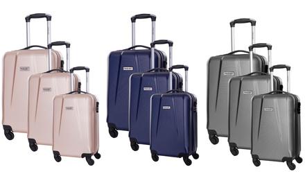 Pandara 3-teiliges Koffer-Set in Beige, Grau oder Navy (83% sparen*)