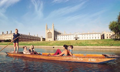 Two-Hour or Full-Day Punt Hire for Up to Six from Scudamore's Punting Company (Up to 55% Off)