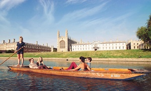 Scudamores Punting Company: Two-Hour or Full-Day Punt Hire for Up to Six from Scudamore's Punting Company (Up to 55% Off)
