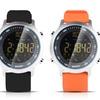 Edelstahl-Smartwatch mit Kamera