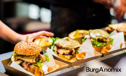 $10 , $19 or $36 to Spend on Food and Drinks at BurgA'nomix, Glenelg