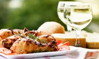 Two-Course Mediterranean Meal with Drinks for Two or Four at Fig Tree (Up to 59% Off)